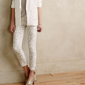 Anthropologie Jeans - {Anthro} Pilcro & the Letterpress Floral CropJeans